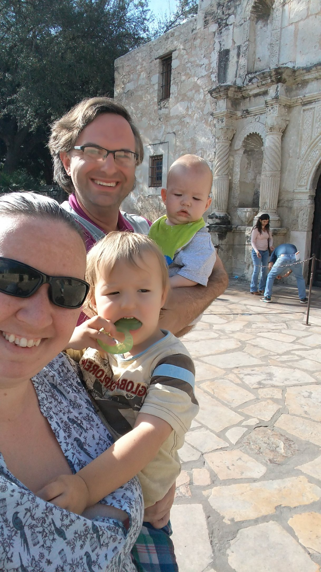 San Antonio – Visiting theAlamo