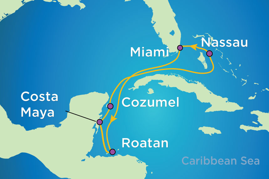 Latest Adventure – Royal Caribbean Cruise, Western Caribbean Itinerary
